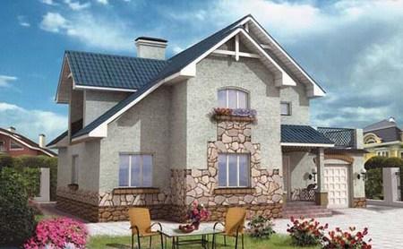 Типовые и индивидуальные проекты домов из ЛСТК